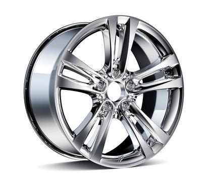 Chromed wheel Rim