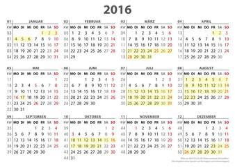Bilder und Videos suchen: kalenderwoche