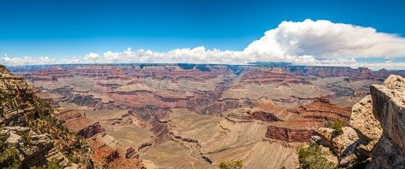 Panoramic view from Mather point