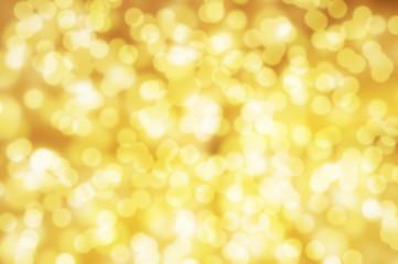 goldener Bokeh Hintergrund