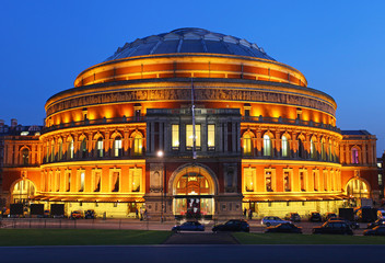 The Royal Albert Hall in London
