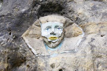 Sphinx - Rock Sculpture