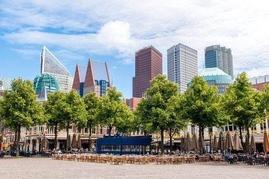 Het Plein - der große Platz in Den Haag