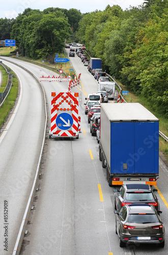 Autobahnsperrung