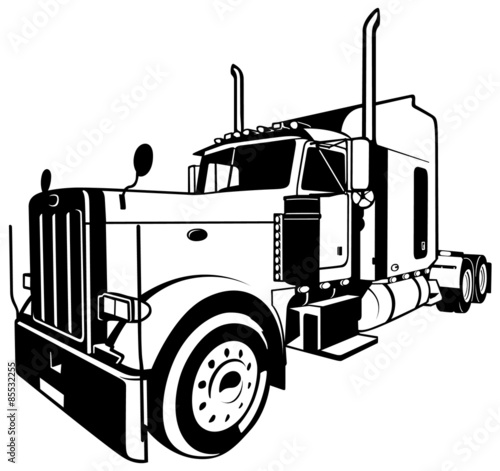u0026quot american truck u0026quot  stock image and royalty