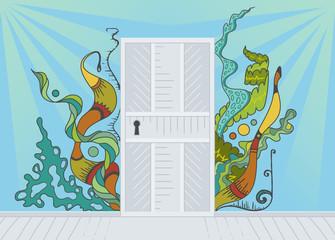 Open door of inspiration
