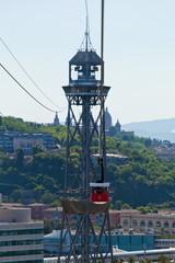 Torre de St. Sebastia Cable Cars