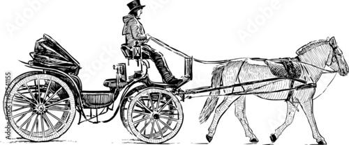 tourist carriage