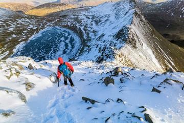 Winter Mountain Trek.