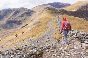 People - Mountain Walking