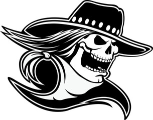 Cowboy Skull
