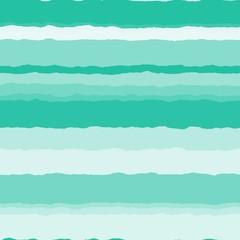 地層柄 stratum pattern(エメラルドグリーン・ライトグレー) / エメラルドグリーンのグラデーションでややウェーブした階層デザインです。クリエイティブな世界観の背景画像を想定して作成しました。