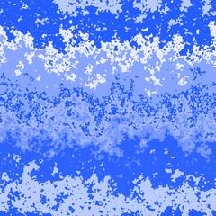 シームレス背景画像(ブルー・ホワイト)