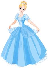 Garden Poster Fairytale World Cinderella