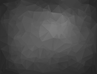 Gray Polygonal Mosaic Background, Creative Design Templates