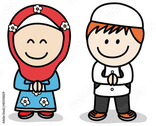 """Muslim kids"""" Stock image and royalty free vector files on Fotolia"""