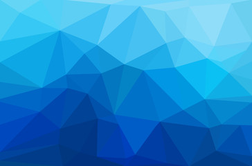Abstract polygon geometric background. Wall mural