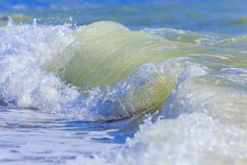 Sea waves. Balck Sea, Crimea, June 2015