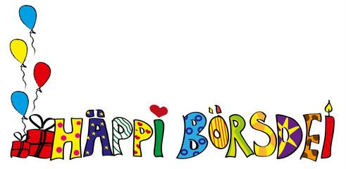 Kinderzeichnung Geburtstag