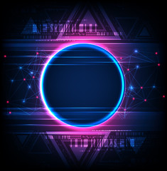 Abstract technology concept  background.