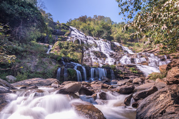 Mae Ya Waterfall Chiangmai in Thailand