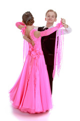Garden Poster Youth dance couple