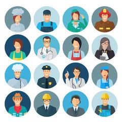 Profession Avatar Flat Icon