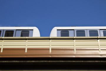 High Speed Monorail Train, taipei, taiwan