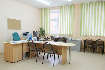 Interior of an office