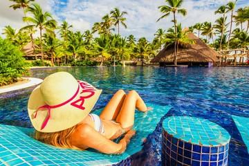 Resort, pool, leisure.