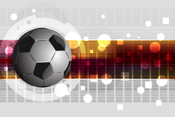 Soccer ball Background. All elements are in separate layers and grouped.