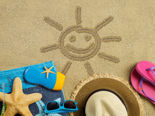 Шлепки на песке без смс