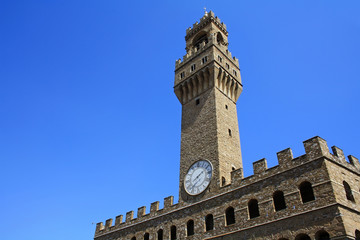 Palazzo Vecchio tower in Florence