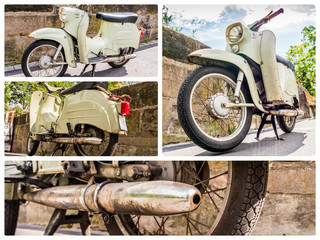 Collage Schwalbe DDR Moped 01
