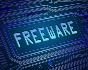 Freeware concept.