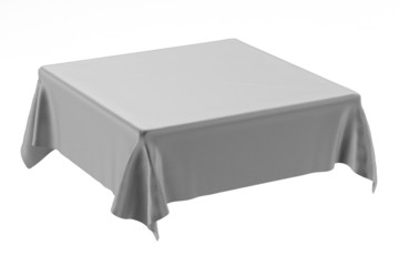 3d render of table cloth