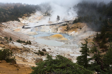 Bumpass Hell im Lassen Volcanic National Park