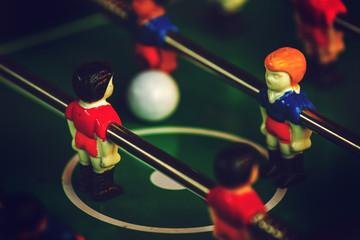 Table Soccer or Football Kicker Game