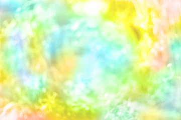 flower blur style made by color filter for background
