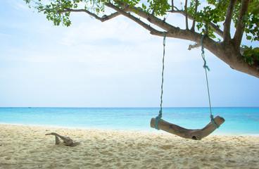 tropical  beach at koh rok, Krabi, Thailand