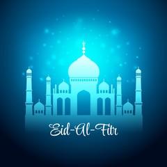 Eid Al Fitr. Eid Mubarak. Vector background
