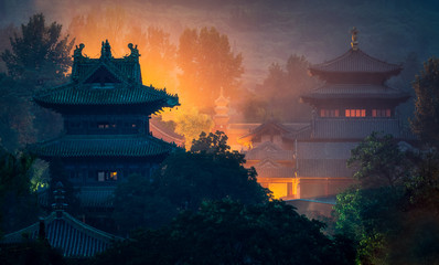 Photo sur Toile Chine Shaolin temple