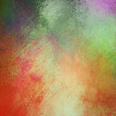 old multicolored abstract vintage background paper with distressed grunge texture and soft lighting