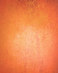 abstract orange background with old texture