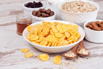 cornflakes and breakfast cereals