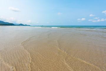 Wall Mural - Beautiful wave at the shallow beach,Koh Chang Island,Thailand