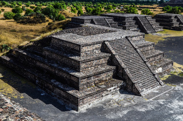 Pyramid in Teotihuacan, Mexico