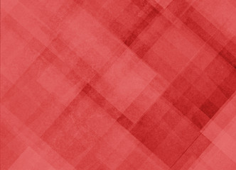 abstract red background pattern of diagonal shapes layered in angles diamonds rectangles squares and lines, abstract graphic art design pattern