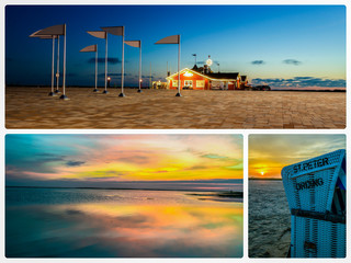 Collage St. Peter Ording