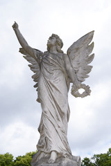 Angel Statue - Angels from Putney Cementary in London, England